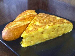 pincho de tortilla en Cafetería Europa