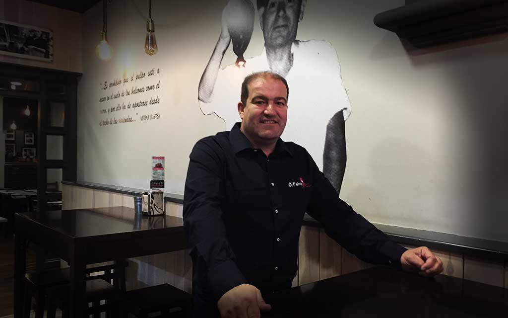 Paco Gómez, mejor pulpeiro del mundo